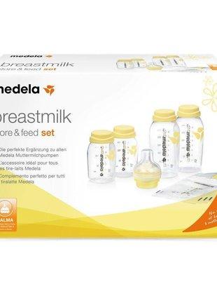 Medela Flessenset voor Moedermelk met Calma Speen