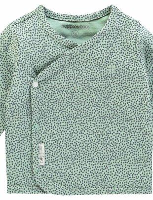 Noppies Noppies Wikkel T-Shirt Lange Mouw Hannah Grey Mint