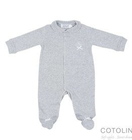 Cotolini Cotolini Pyjama BB Alix Gris Chiné