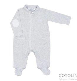 Cotolini Cotolini Pyjama Théodore Gris Chnié