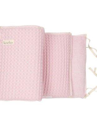 Koeka Koeka Bed/Boxbumper Amsterdam Old Baby Pink