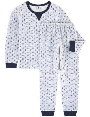 Petit Bateau Petit Bateau Pyjama Met Anker