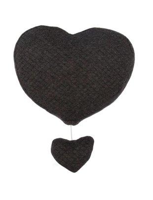 Les Rêves d'Anaïs Les Rêves d'Anaïs Muziekmobiel Heart Diamond Anthracite