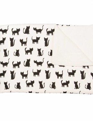 Trixie Trixie Dekentje Cats Fleece 75 x 100 cm