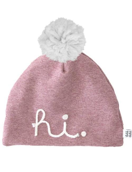 Aai Aai Aai Aai Winterbeanie HI Pink Met Pompon
