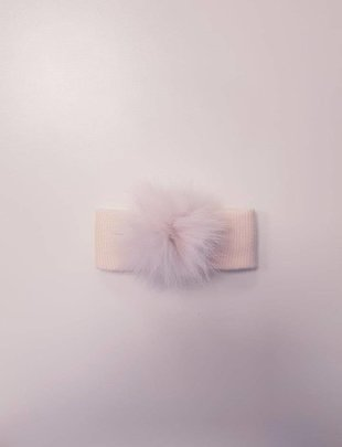 Il Trenino Il Trenino Haarband Pompon Pink