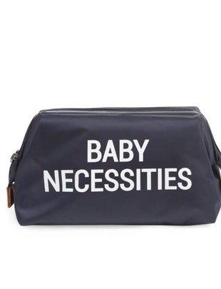 Childhome Childhome Baby Necessities Toilettas - Navy Wit