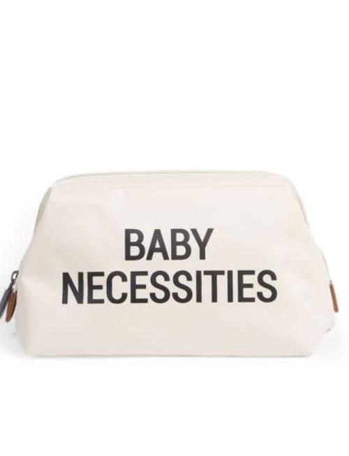 Childhome Childhome Baby Necessities Toilettas - Ecru Zwart