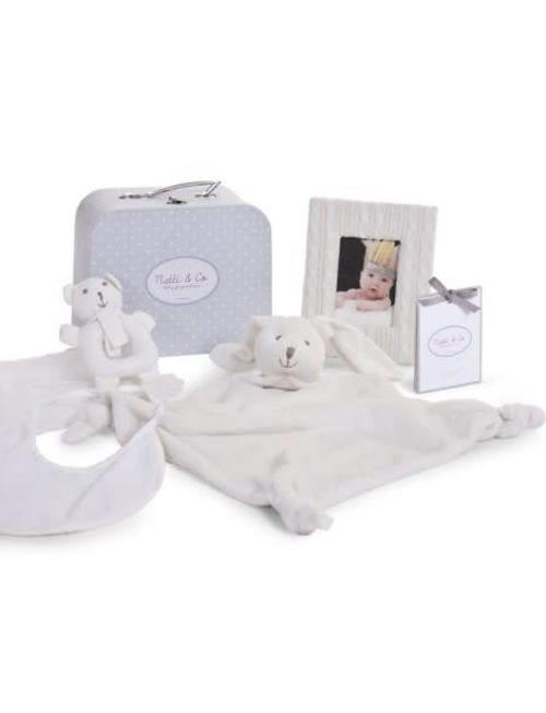 Childhome Childhome Gift Box incl. Doudou, Kader, Slab ...