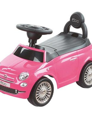 Happy-Car Happy Car Loopauto Fiat 500 Pink