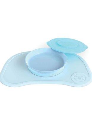 Twistshake Twistshake Klikmat + Bord Pastel Blue