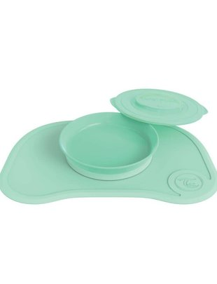 Twistshake Twistshake Klikmat + Bord Pastel Green
