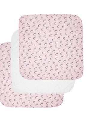 Babimex Luma Tetradoek 70 x 70 xm Racoon Pink 3 stuks