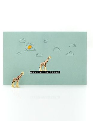 Leuke Kaartjes Leuke Kaartjes Giraf Sparkle All Day