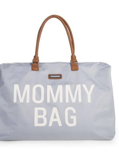 Childhome Childhome Mommy Bag Verzorgingstas - Grijs Ecru