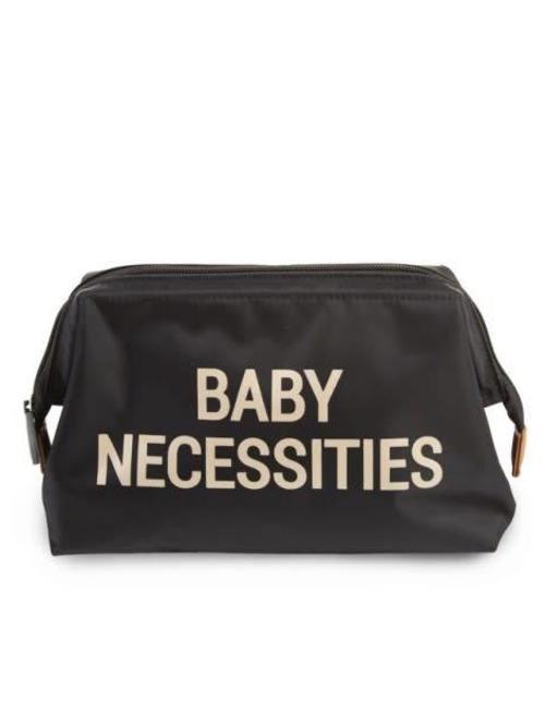 Childhome Childhome Toiletzakje Baby Necessities Zwart/Goud