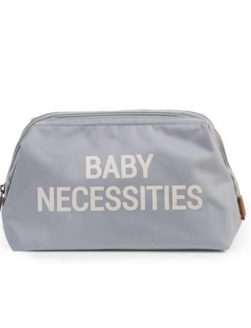Childhome Childhome Toiletzakje Baby Necessities Lichtblauw/Wit