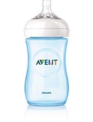 Avent Avent Natural Drinkfles Blauw 260 Ml