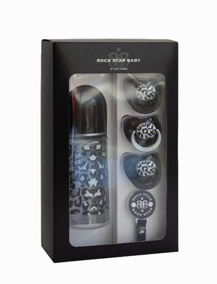 Rock Star Baby Rock Star Baby Giftset 5-delig Snow Leopard