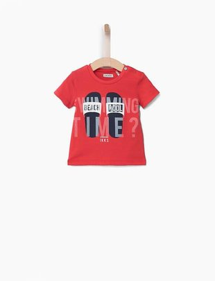 IKKS IKKS T-shirt Beach Pool Rood