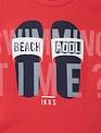 IKKS IKKS T-shirt Beach Pool Rood