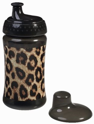 Rock Star Baby Rock Star Baby Drinkbeker Leopard 340ml