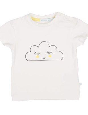 Bla Bla Bla Bla Bla Bla T-shirt Wolk Met Gele Wangetjes