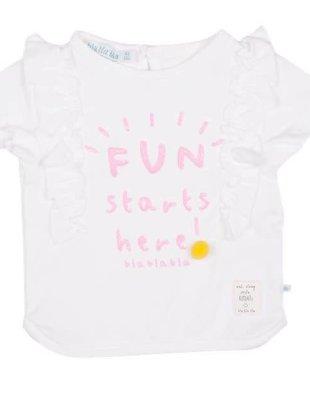 Bla Bla Bla Bla Bla Bla T-shirt Fun Starts Here