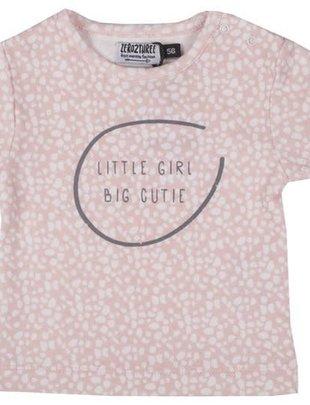 Zero2Three Zero2Three T-shirt Little Girl Big Cutie