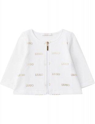 Liu Jo Liu Jo Vest Logo White/Gold
