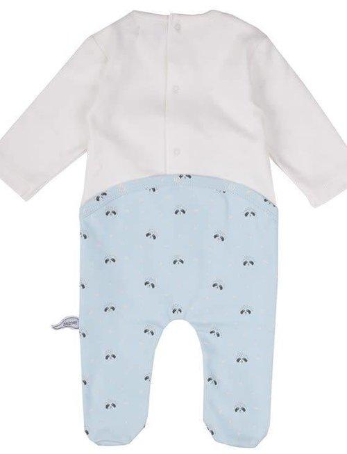 Zero2Three Zero2Three Pyjama Mom Is Wow Upside Down Ecru