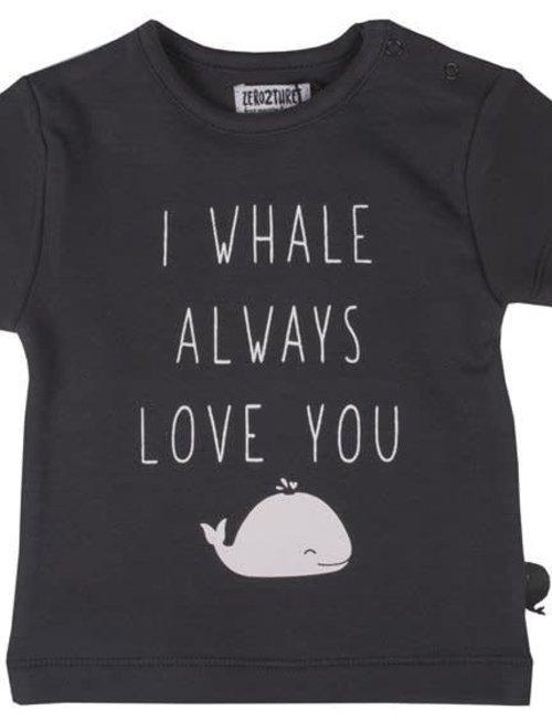 Zero2Three Zero2Three T-shirt I Whale Always Love You