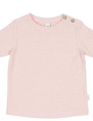 Koeka Koeka T-shirt Linescape Dusty Pink