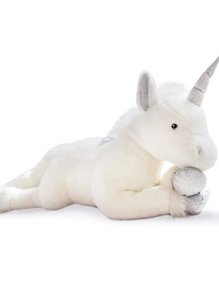 Histoire d'Ours Histoire D'Ours Unicorn Zilver 60 cm