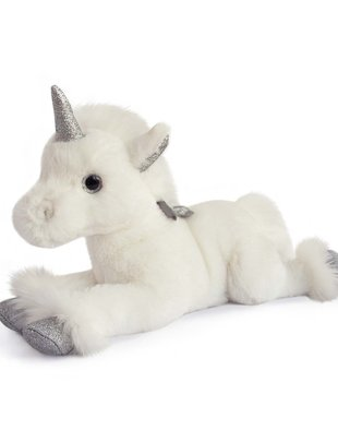 Histoire d'Ours Histoire d'Ours Unicorn Zilver 35 cm