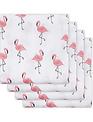 Jollein Jollein Hydrofiel Doeken Flamingo Set Van 4