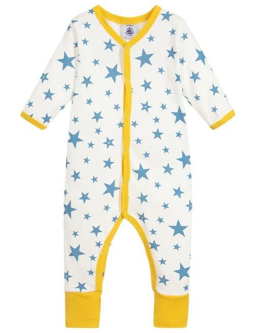 Petit Bateau Petit Bateau Pyjama Sterren Blauw