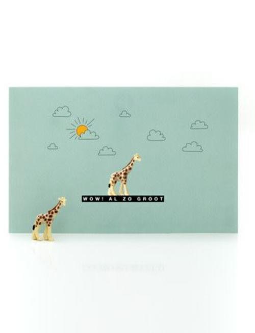 leuke kaartjes giraffe
