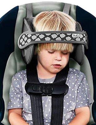 NapUp Napup Hoofdband voor Autostoel Grijs