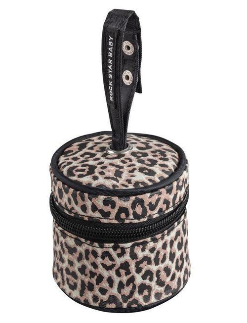 rock star baby fopspeentasje luipaardprint