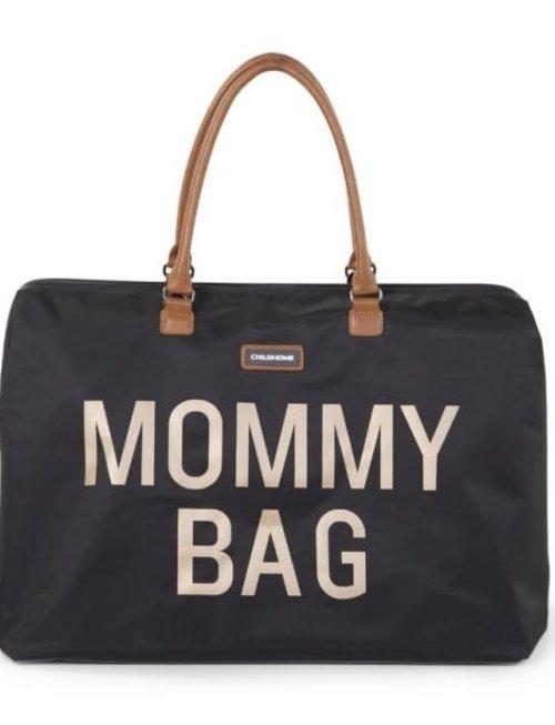 Childhome Childhome Mommy Bag Verzorgingstas - Zwart/Goud