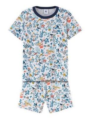 Petit Bateau Petit Bateau Pyjama Kort Dieren