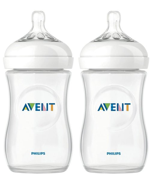 Avent Avent Natural Drinkflessen Duo 260 ml