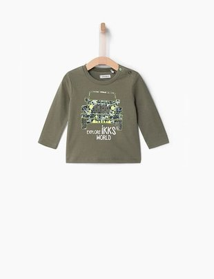 IKKS IKKS T-shirt Terreinwagen  Glow In The Dark