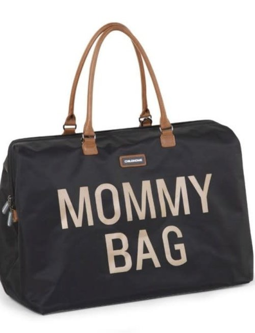 Childhome Childhome Mommy Bag Black/Gold