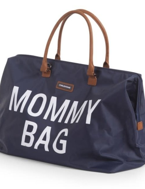 Childhome Childhome Mommy Bag Marine Blauw