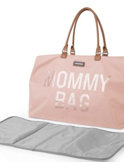 Childhome Childhome Mommy Bag Verzorgingstas - Roze/Koper