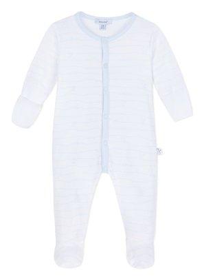 Absorba Absorba Pyjama Bisou Met Krabwantjes Blauw
