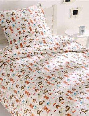 Good Night Good Night Dekbedovertrek Junior Dogs 140 cm x 200 cm