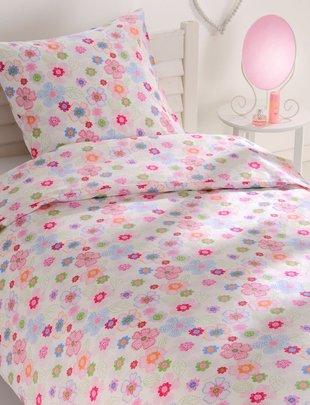 Good Night Good Night Dekbedovertrek Junior Flowers 140 cm x 200 cm